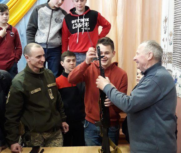 Військово-патріотичне виховання школярів